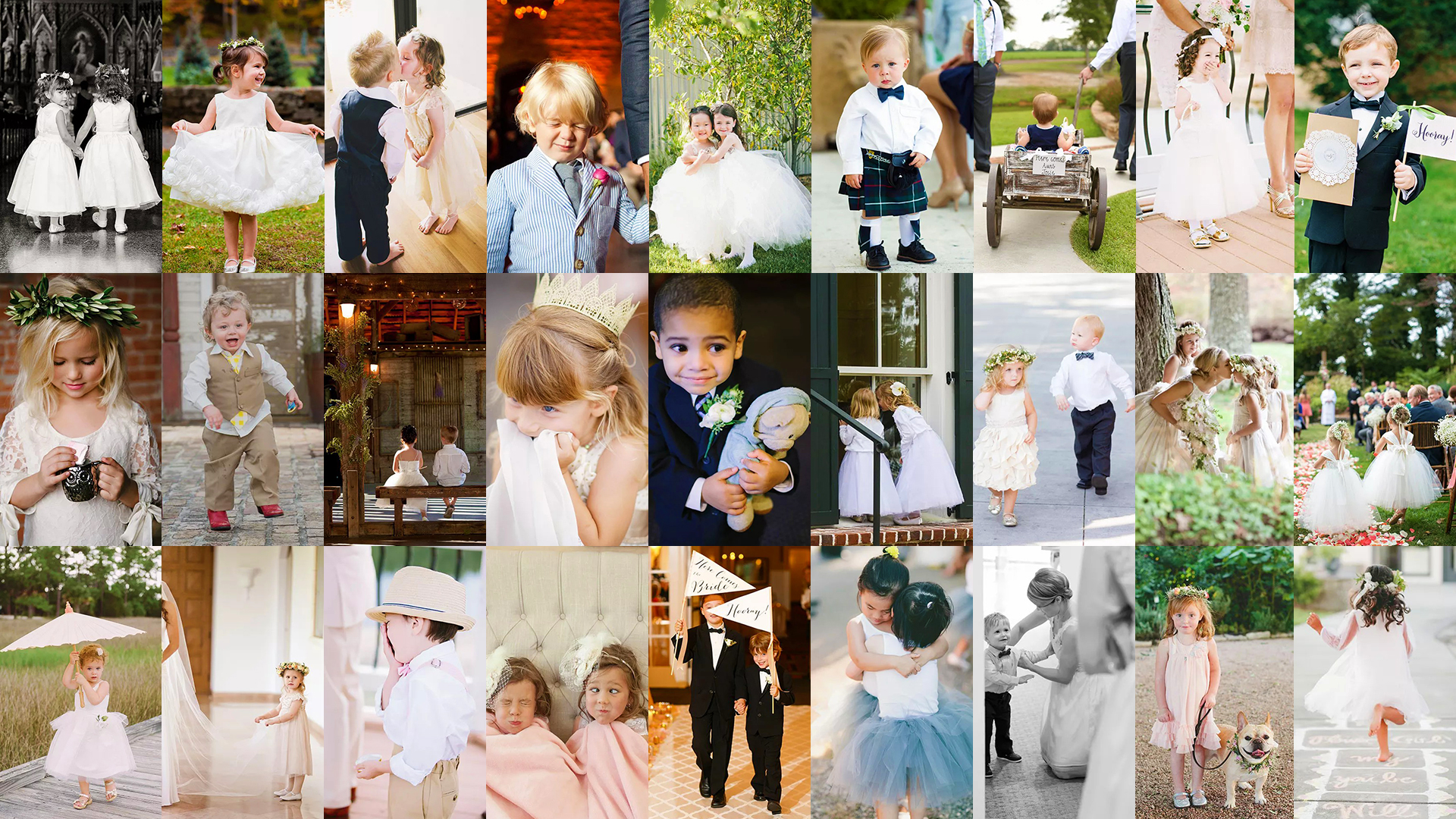 How To Photograph Kids At Wedding – Some Poses And Ideas