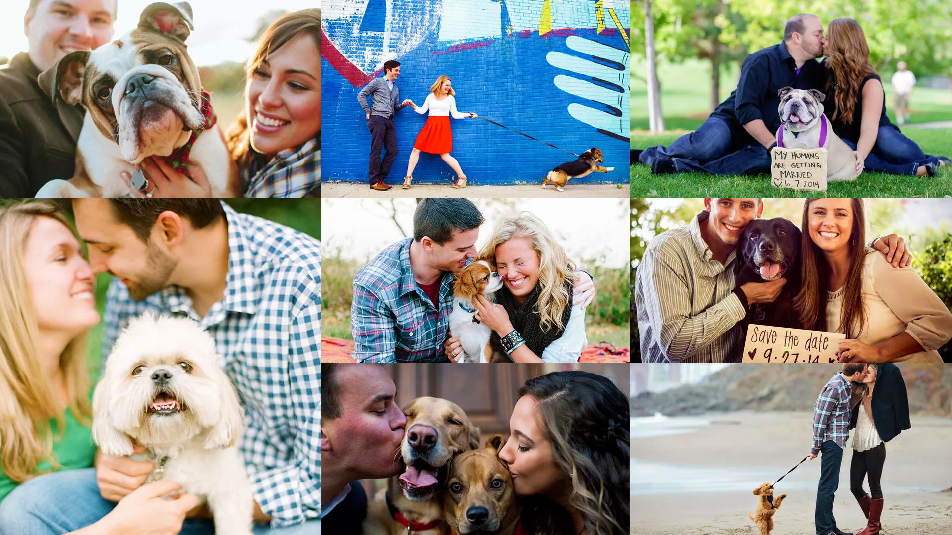 Tips To Include Your Dog in Your Engagement Photos