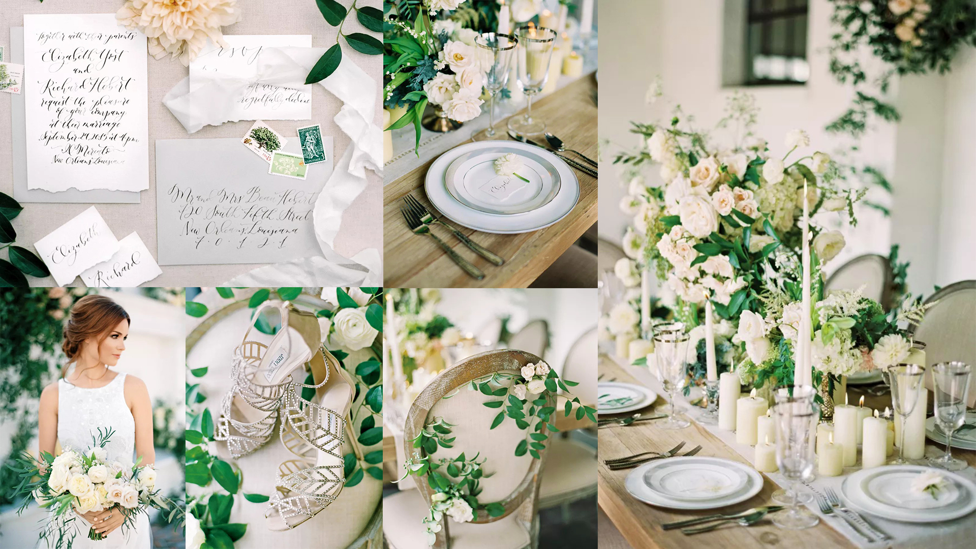 White Haute – A Modern Wedding Style With a Timeless Palette