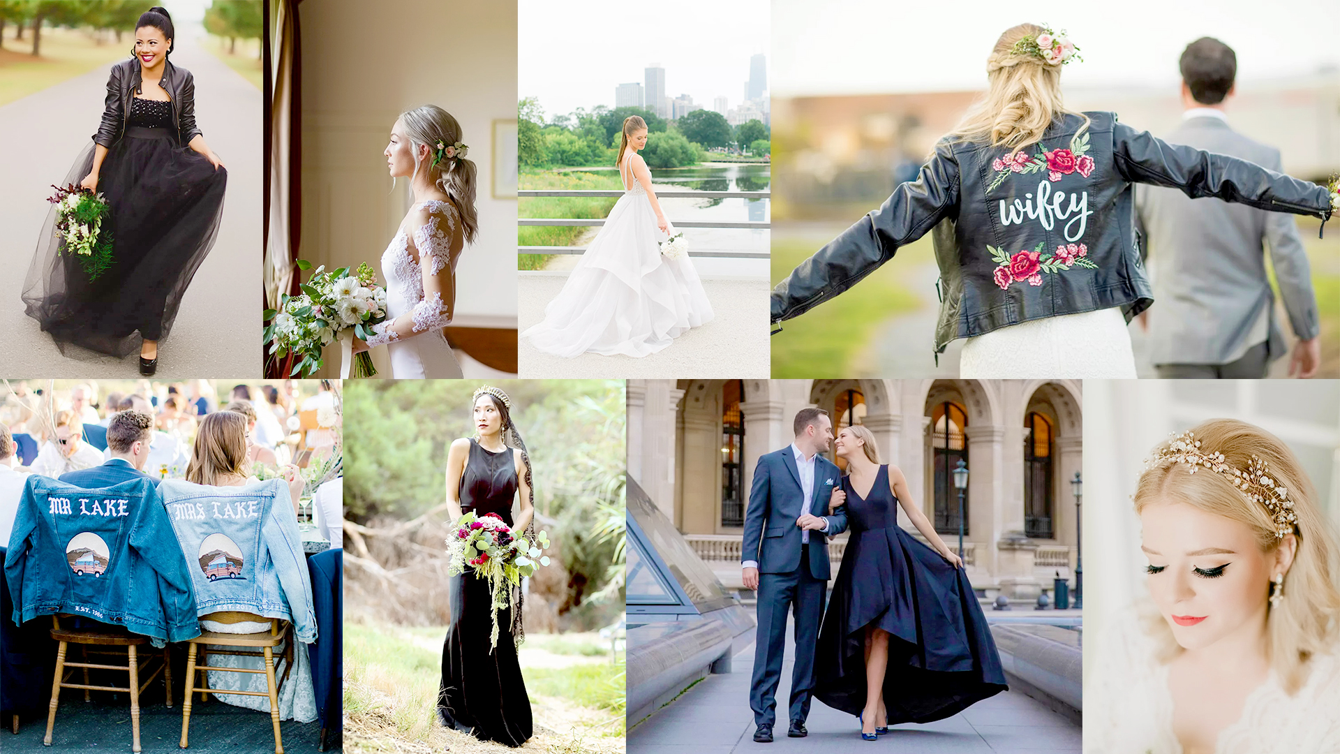 Cool-Girl Style Trends And How To Actually Pull Them Off   Look effortlessly chic on your wedding day
